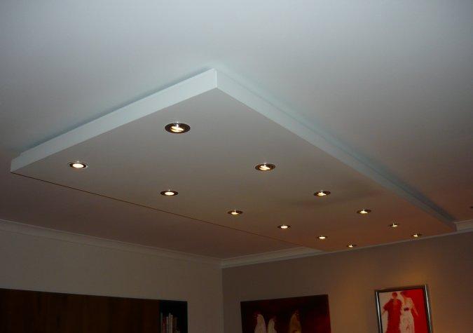 verlaagd plafond van aluminium afa metaalbewerking